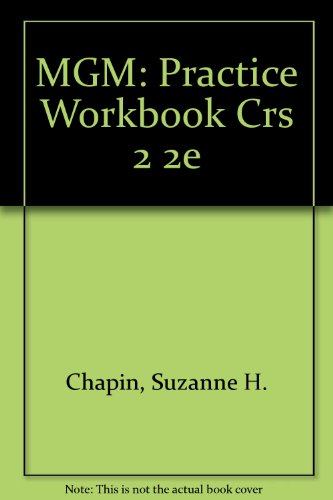 MGM: PRACTICE WORKBOOK CRS 2 2E