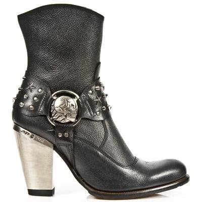New Rock Bull Boots Women - Black - Euro 39 / UK 6