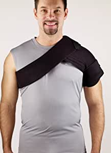 "Corflex CRYOTHERM SHOULDER WRAP W/4 GELS - Fits up to 48"" chest circumference"