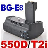 Battery Grip BG-E8 for Canon EOS 550D / Rebel T2i SLR Digital Camera
