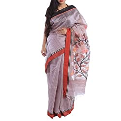 Kiara Crafts Silk Saree (kc-004_Purple)