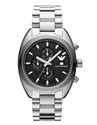 Armani Emporio Quartz Black Dial Men's Watch - AR5957