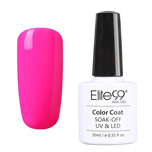 elite99-smalto-semipermanente-serie-elegante-rosa-colore-gel-ricostruzione-unghie-arte-con-lampada-v