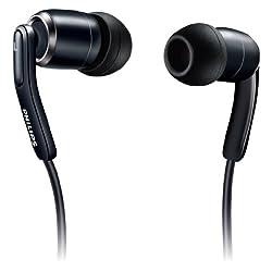 フィリップス ヘッドフォン インイヤーカナル式 ブラック SHE9710