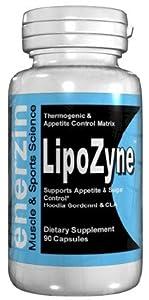 Lipozyne - 90 Capsules Fat Burner With Hoodia Gordonii And Cla Conjugated Linoleic Acid Garcinia Cambogia Weight Loss Diet Pills from Enerzin
