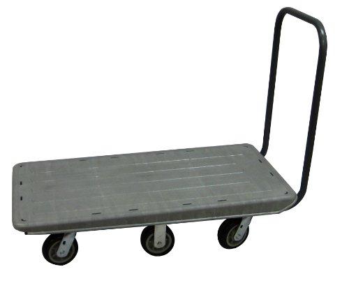 R. W. ROGERS RWR-FB-NN3060-6 Non-Nesting Flatbed Cart, 65
