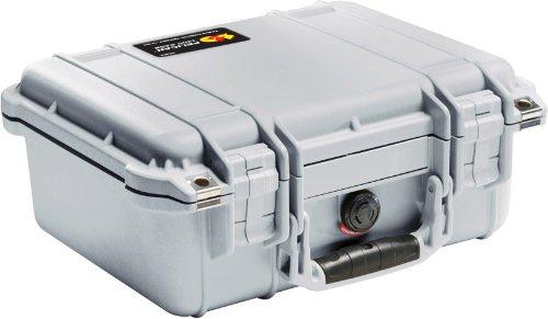 Pelican 1400 Case with Foam for Camera  - Silver (Pelican Case Medium compare prices)