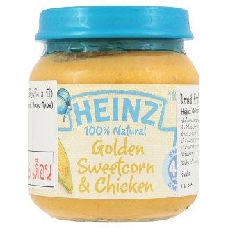 Heinz Golden Sweetcorn & Chicken 5% 110G front-820336