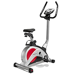 Pure Fitness and Sports MCL800 12-Programs with Heart Rate Control Exercise Bike - Silver