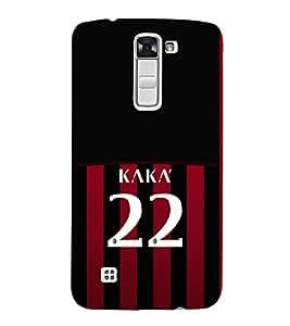 PRINTVISA Football Kaka Brazil Case Cover for LG K10