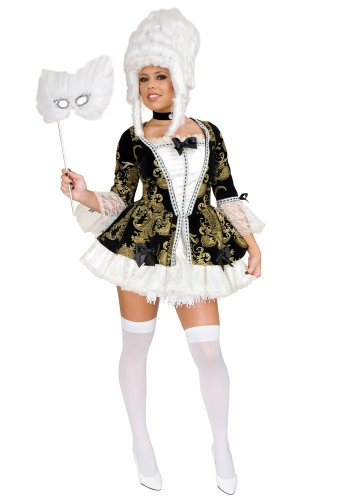 Charades Women's Plus Size Marie Antoinette Costume