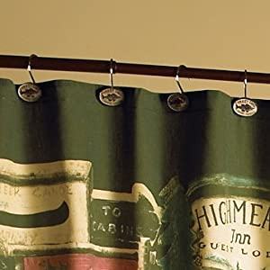 Fabric Shower Curtains Amazon Cowboy Boot Shower Curtai