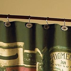 Fabric Shower Curtains Amazon Cowboy Boot Shower Curtai