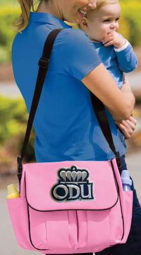 Odu Logo Diaper Bag Official Ncaa College Logo Deluxe Old Dominion University - front-1066729