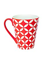 Merry Christmas Set Taza 4 Uds. Etnika Rojo