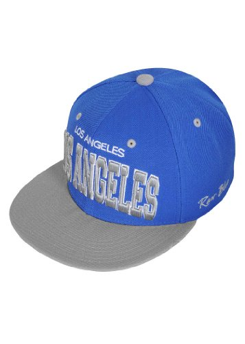 Raw Blue Cap City Snapback Los Angeles RBC1300 royal blau grau