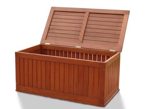 outdoor cooking on sales vifah v107 v513 outdoor wood storage box natural wood finish 47. Black Bedroom Furniture Sets. Home Design Ideas