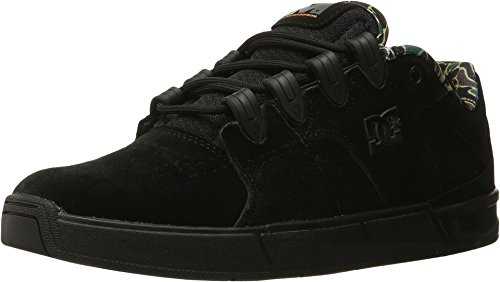 DC Men's Maddo Skate Shoe, Black Camo, 9.5 M US