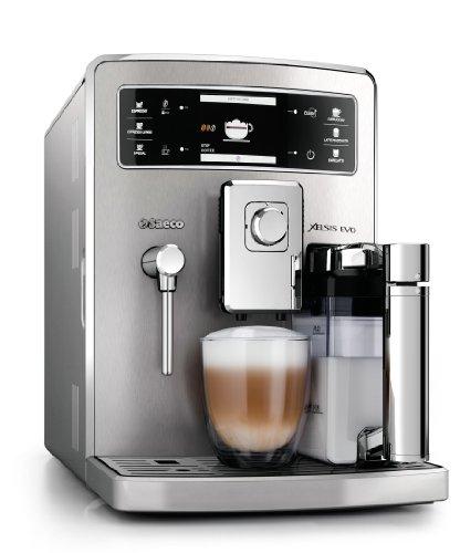 Saeco HD8954/01 Xelsis Evo Kaffeevollautomat, integrierte Milchkaraffe, silber thumbnail