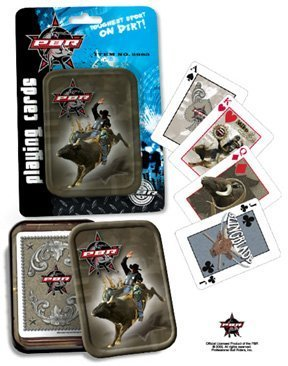 PBR (Professional Bull Riders) Playing Cards in Collector's Tin by Rix