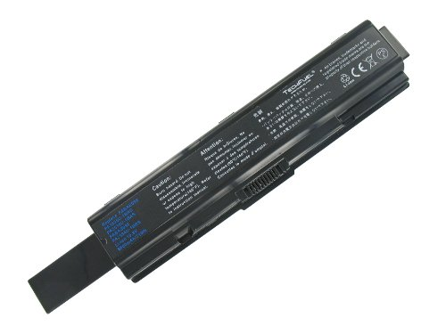 Toshiba Satellite A205-S7468 Laptop Battery - New TechFuel Professional 9-cell, Li-ion Battery