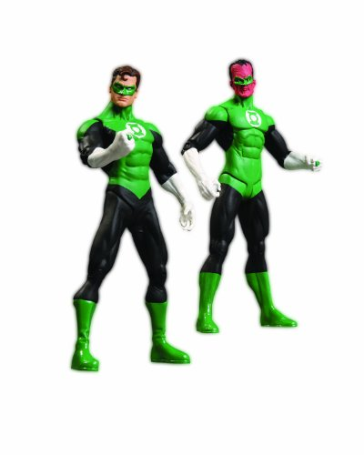 DC Direct Green Lantern Rebirth Action Figure Collector Set (Dc Comics Sinestro Action Figure compare prices)
