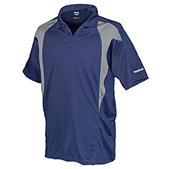 Reebok golf new mens size colorblock dri fit for Mens 5x polo shirts