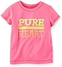 Carter39s Girl 3t Pure Heart Active Tee Pink