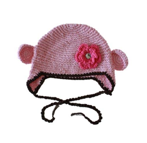 Toddler Beanie Baby Hat Cap Crochet Handmade Photography Prop front-482875