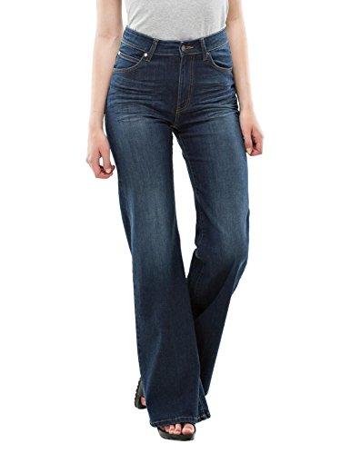 dr-denim-jeansmakers-womens-saige-flared-jeans-blue-in-size-28-30-blue
