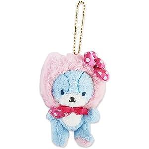 [Hello Kitty] mascot holder Blue Hello Kitty & ?^?C?j[?`???? series