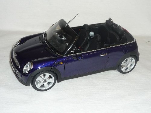 BMW New Mini Cooper Cabrio Blau