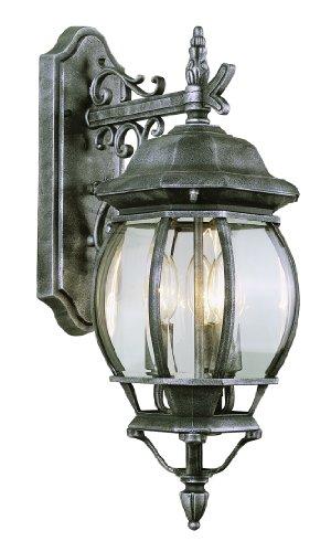 Bel Air Lighting 4054 BK 3-Light Coach Lantern