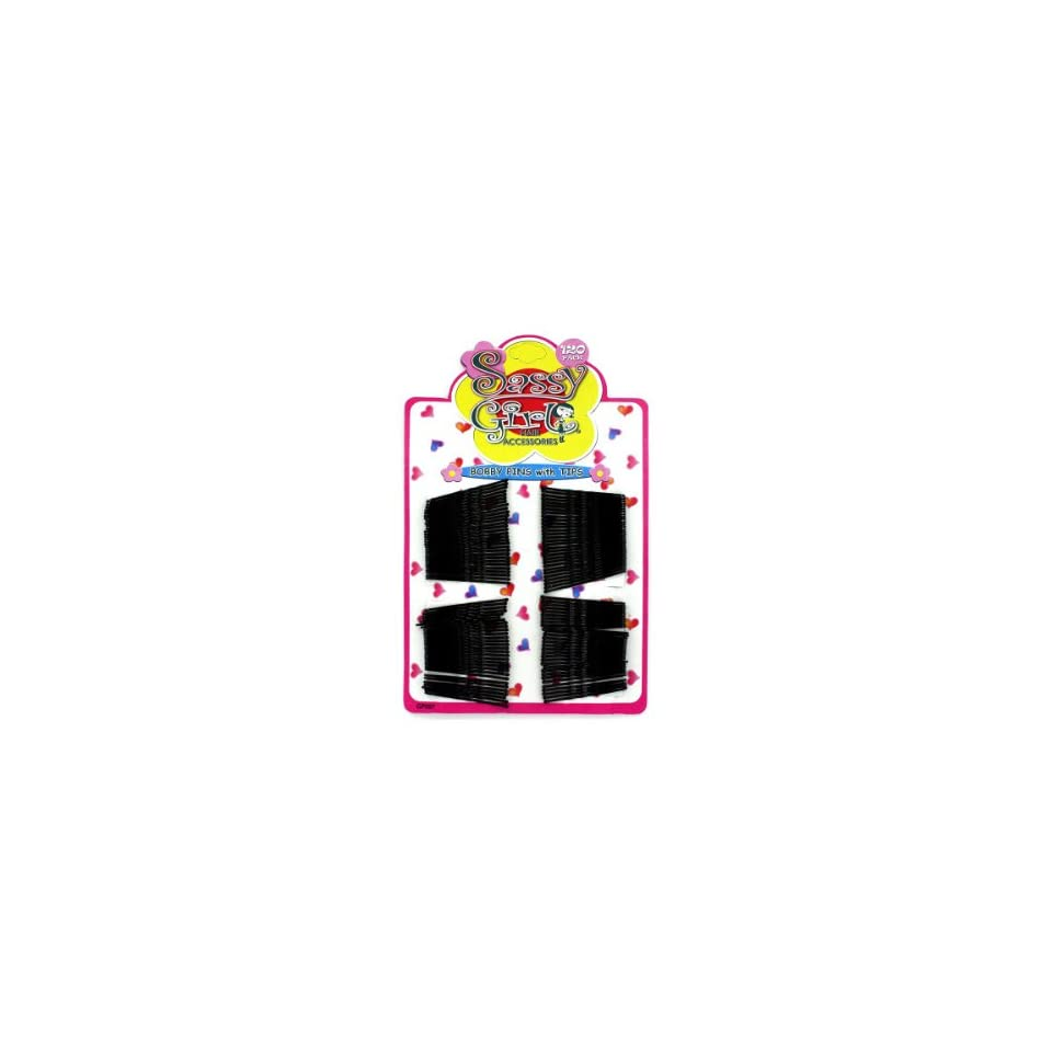 Bulk Pack of 48   Black bobby pins (Each) By Bulk Buys