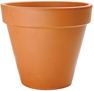 New England Pottery Standard Pot, 14-Inch, Terra Cotta