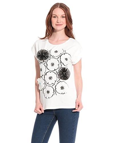 Tèr de Caractère T-Shirt Manica Corta [Bianco]