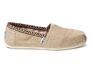 TOMS Women's Classics Hemp Trim Shoe Size 5.5 B(M) US