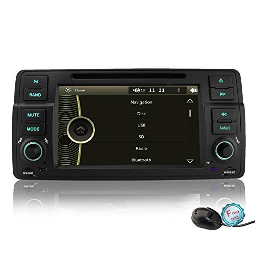 review yinuo 7 inch car dvd stereo for bmw 3 series e46