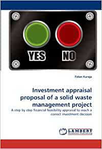 Amazon.com: Investment appraisal proposal of a solid waste