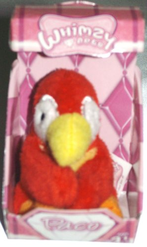 Series 2 Whimzy Pets Parrot - Paco