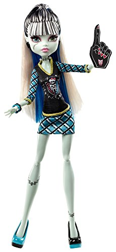 Mattel BDF09 - Monster High - Bambola Frankie Stein, versione Monster-Fan