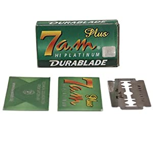 100 7a.m. Platinum Double Edge Safety Razor Blades