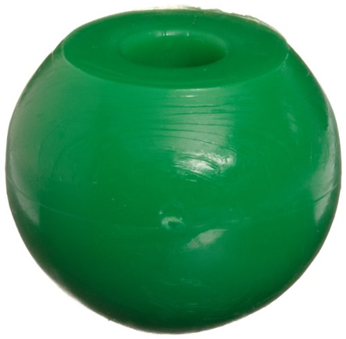 Molecular Models Green Plastic Chlorine Monovalent Atom Center, 17mm Diameter (Pack of 10)