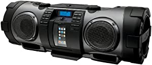 JVC RV-NB70B Powered iPod/iPhone Dock Woofer Speaker System with connection for MP3/Mic/CD and Guitar - Black (discontinued by manufacturer)