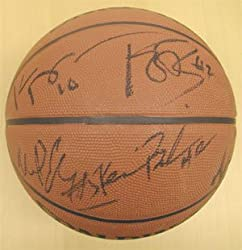 Multi-Signed NBA Team-Signed Charlotte Bobcats NBA Basketball
