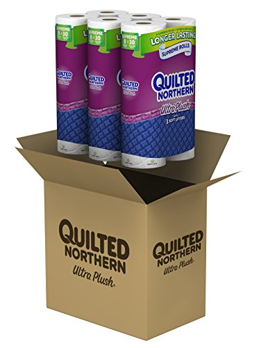 Quilted Northern Bathroom Tissue Rolls Toilet Paper
