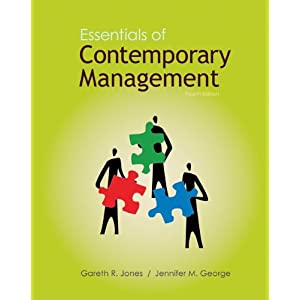 essentials of contemporary management Gareth r jones, texas a&m university laurel donaldson, douglas college.