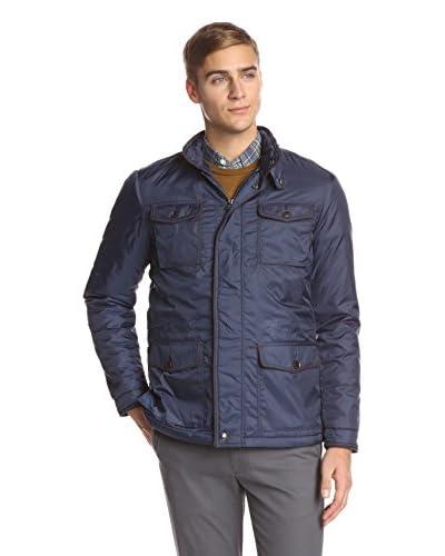 Thaddeus Men's Montgomery Long Sleeve 4 Pocket Zip Front Jacket