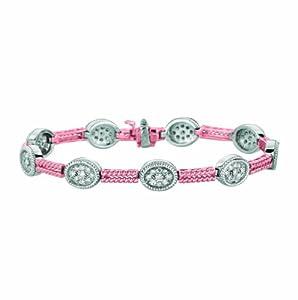 14 Karat Pink Gold 2 bars Motif bracelet Enhanced With Briliant Near Colorless Diamonds. (GH-Color SI2-Clarity 1.62-Carat)