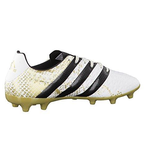 adidas Herren Ace 16.3 FG Fußballschuhe, Blanco (Ftwbla / Negbas / Dormet), 48 EU -